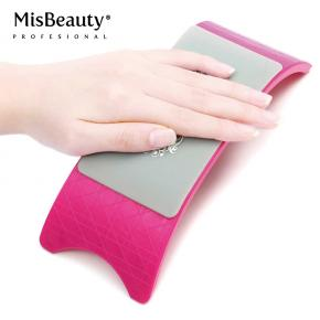 Comfortable Nail Art Pillow Hand Holder Cushion Plastic & Silicone Cushion arm rest pad