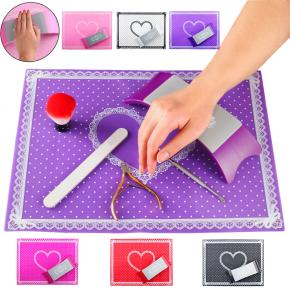 Silicone Nail Art Mat Hand Arm Rest Nail Pillow Manicure for Salon arm rest