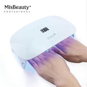 Rainbow 1 UV LED Nail Dryer Curing Lamp for Fingernail & Toenail Gels Based Polishes Applicable to Almost All Different Gels
