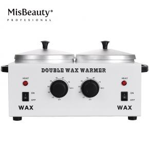 Electric Double Pot Wax Warmer Heater Professional Dual Pro Salon Hot Paraffin