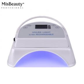 White Color Cordless Led Nail lamp 64w fast curing all uv led gel