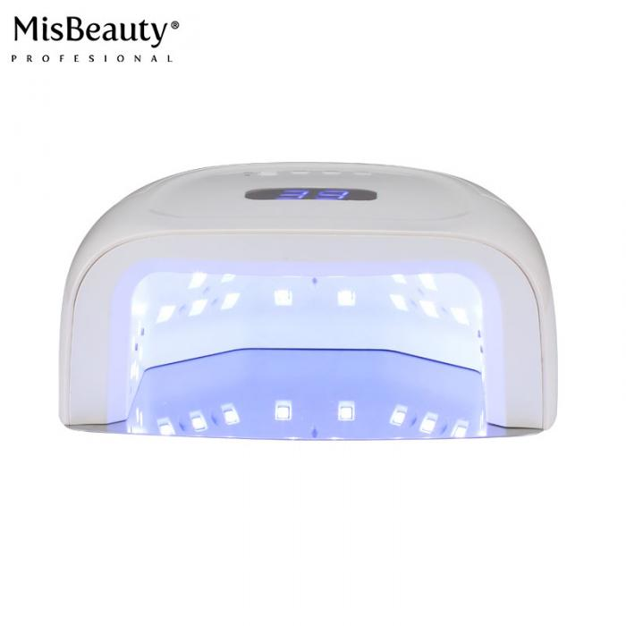 Wireless 60w uv led cordless led gel nail light with 15600mA battery