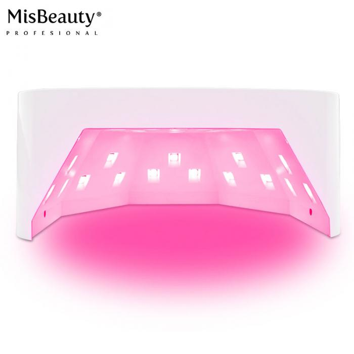 48w Double USB Cordless Red Light Nail Lamp Dryer