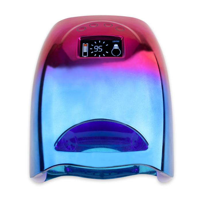 48w cordless pro cure uv led gel nail lamp Gradient Color